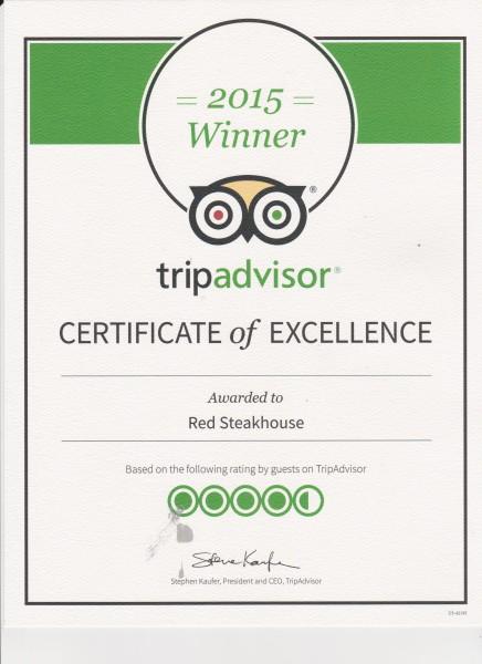Trip Advisor Winner 2015 001